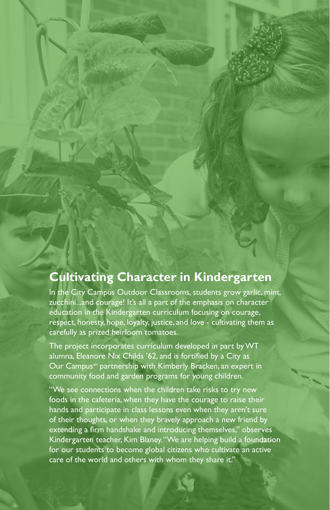 Annual Giving Report - Winchester Thurston School