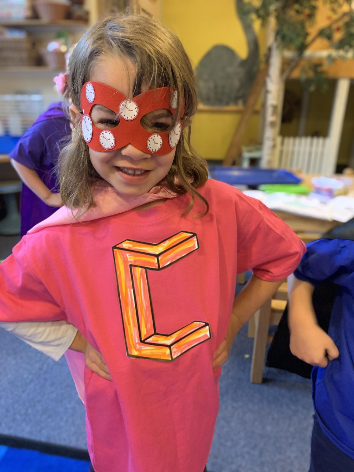 Pre-K Students Transform into Superheroes